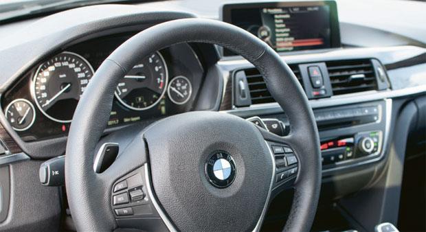 BMW 328 intreör