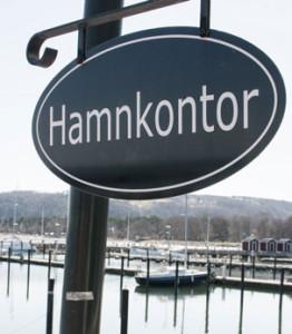Hamnskylt