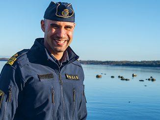Lokalpolisområdeschef Karim Ottosson Foto: Anna Matre