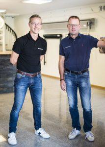 Jimi Bergh och Mikael Pålsson