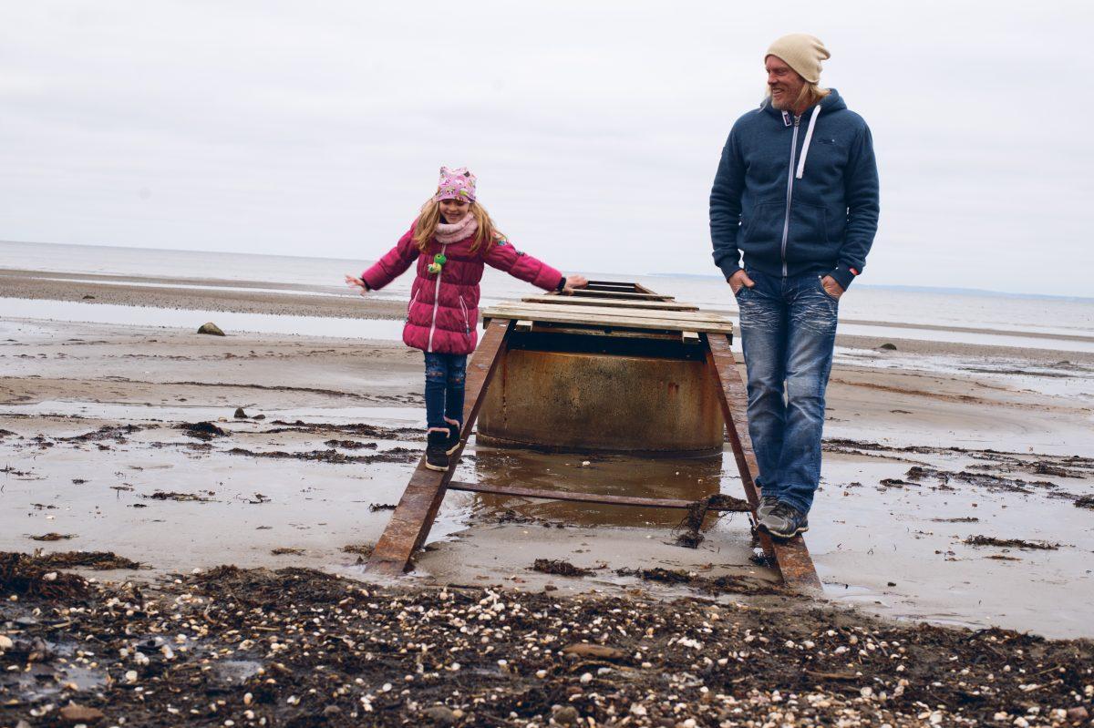 Figge Persson med dottern Melina Foto: Anna Matre, Bjäreliv