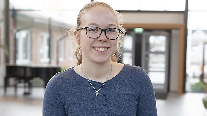 Valentina Winkler hamnade i Laholm, inte på Island. Foto: Anna Matre, Bjäreliv