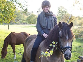 Miranda Lindh på hästryggen Foto: Anna Matre, Bjäreliv