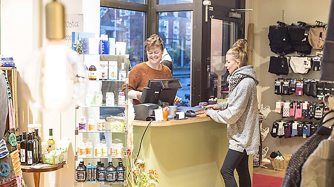 Elisabeth Hagert i nya butiken Foto: Anna Matre, Bjäreliv